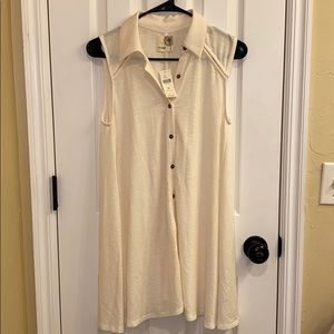 Anthropologie • Everleigh Ivory Top • NWT (XS)